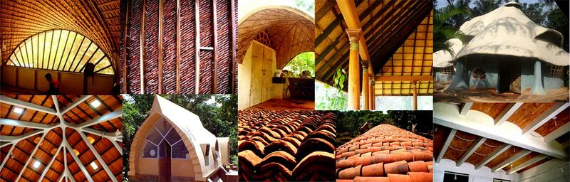Roofing Technologies In Auroville Auroville Wiki