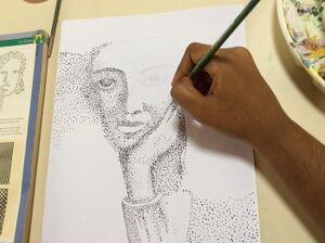 2016 Kalabhumi Open Art Studio - pointillism.jpg