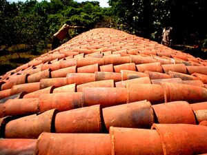 Vaulted Roofing With Guna Tubes Auroville Wiki