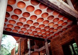 Roofing With Filler Slab Auroville Wiki