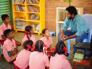 Photo Effective curricular - Sundar with kids.JPG