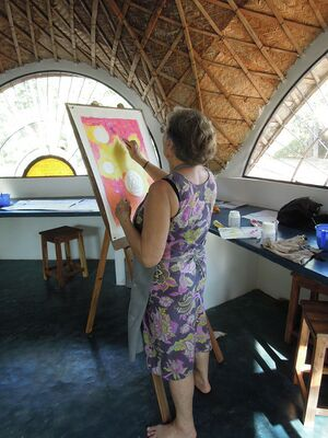 2013 Kalabhumi Open Art Studio - Liliane.JPG