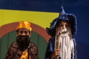 Deepanam 2019 - Gandalf and Thorin in The Hobbit (Grace group).jpg