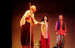 Auroville Theatre Group 2017 - Swami and friends.jpg