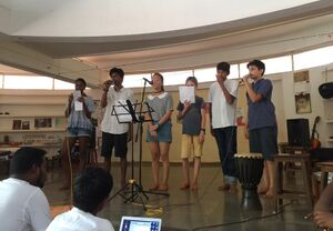 Transition School 2017 - music and poetry open house.JPG
