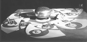 Matrimandir brass pot model - 1 of 5 presented March 1970.jpg
